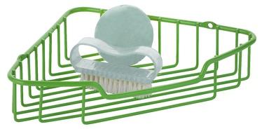 Axentia Bathroom Shelf Unit Marbella Green