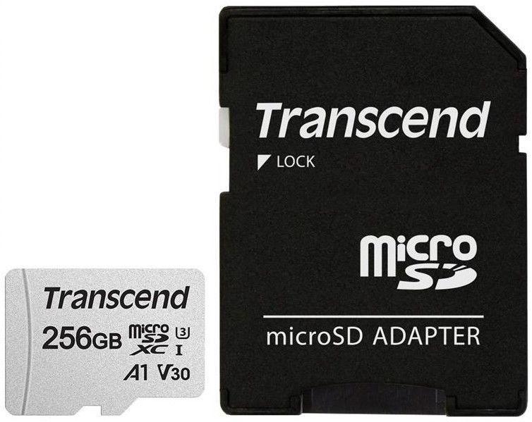 Transcend 300S 256GB microSDXC CL10 UHS-I + SD Adapter