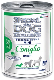 Monge Special Dog Excellence Mini Adult Rabbit 400g
