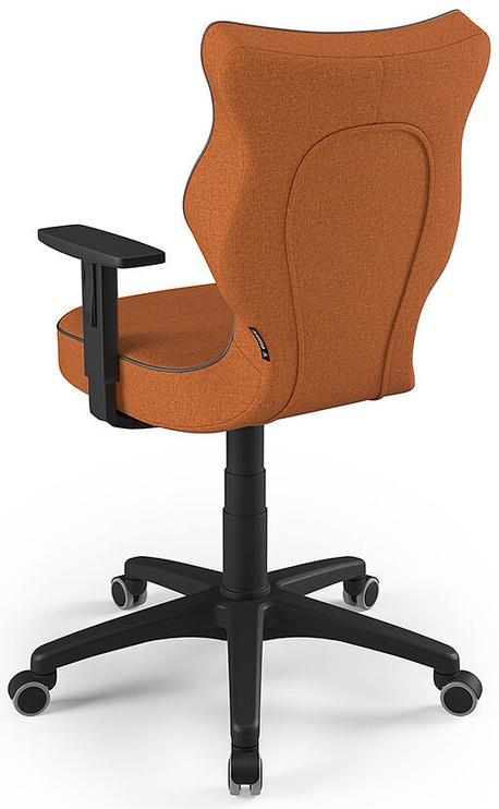 Офисный стул Entelo Office Chair Duo, черный/oранжевый