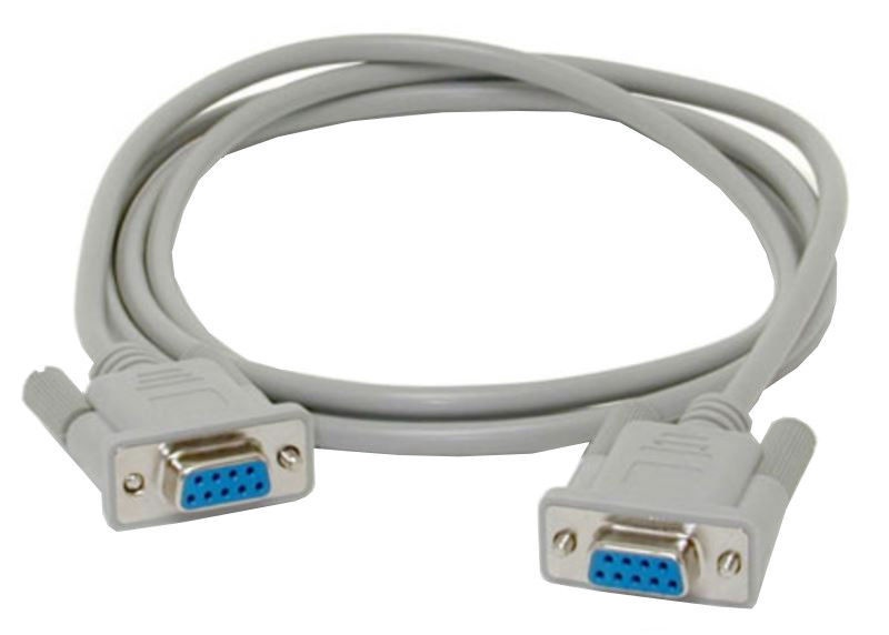 Akyga Cable RS-232 / RS-232 2m Grey