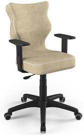 Детский стул Entelo Duo Size 6 VS26, черный/кремовый, 400 мм x 1045 мм