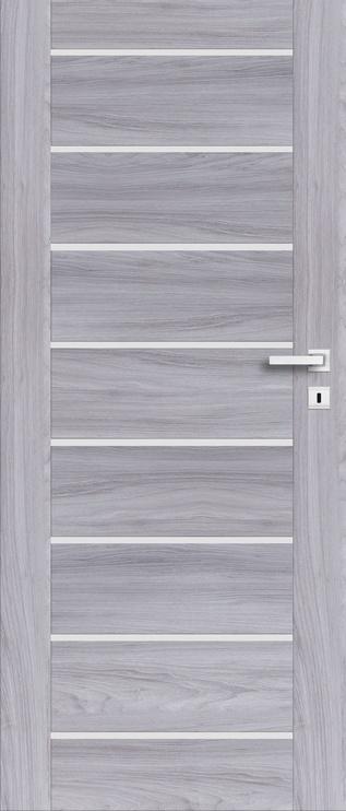 Полотно межкомнатной двери PerfectDoor MIRA 01, серый, 203.5 см x 64.4 см x 4 см