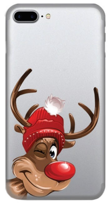 TakeMe Special Design Back Case For Apple iPhone X/XS Winter Deer