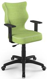 Детский стул Entelo Duo Size 6 VS05, черный/зеленый, 400 мм x 1045 мм