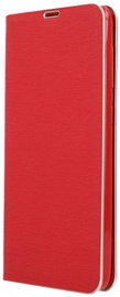 OEM Smart Venus Book Case With Frame For Samsung Galaxy A41 Red