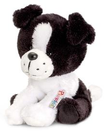 Pliušinis žaislas Keel Toys Pippins Collie SF0320K, baltas/juodas, 14 cm