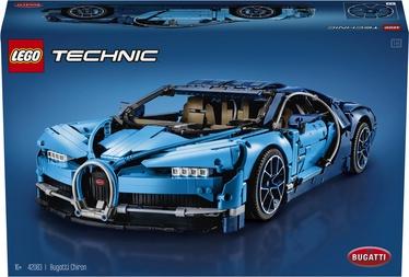 Konstruktors LEGO Technic Bugatti Chiron 42083 42083, 3599 gab.