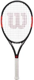 Wilson Federer Team 105 White/Black/Red