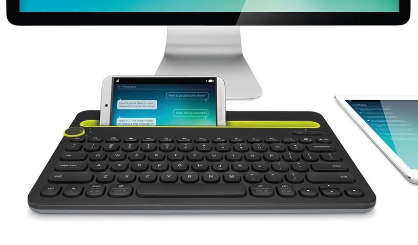Logitech K480 Bluetooth Multi-Device Keyboard Black