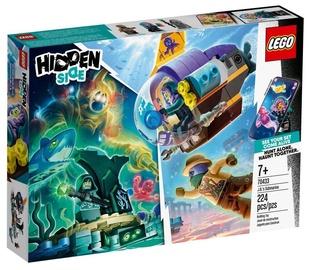 Konstruktorius LEGO®Hidden Side 70433 J.B. povandeninis laivas