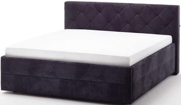 Gulta Meise Möbel Terano Black, 200x180 cm