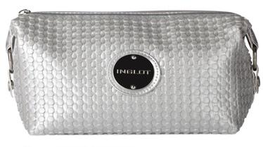 Inglot Silver Makeup Bag Beautician