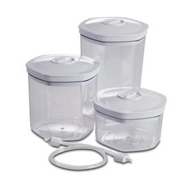 Solis Hexagonal Vacuum Container Set Of 3 922.78 T-MLX19326