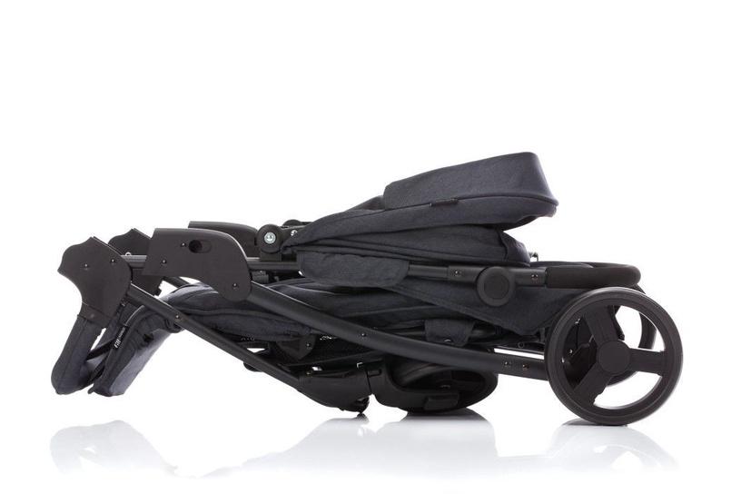 Sportinis vežimėlis Fillikid Buggy Rapid Carrier E0311-07 Dark Gray