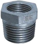 """STP Fittings Cast Iron Reducing Connector Zinc 2""""Mx1/2""""F"""
