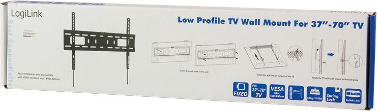 "LogiLink BP0017 TV Wall Mount 37–70"""