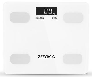 Zeegma Gewit Bathroom Scale White