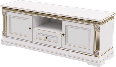 MN T2-150 TV Stand White/Gold