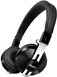 Ausinės Sven AP-B350MV On-Ear Bluetooth Headphones Black