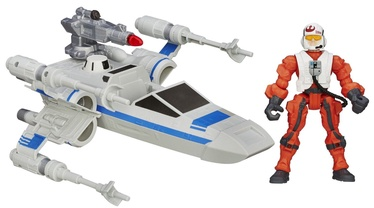 Hasbro Hero Mashers Resistance X Wing Vehicle & Pilot B3702