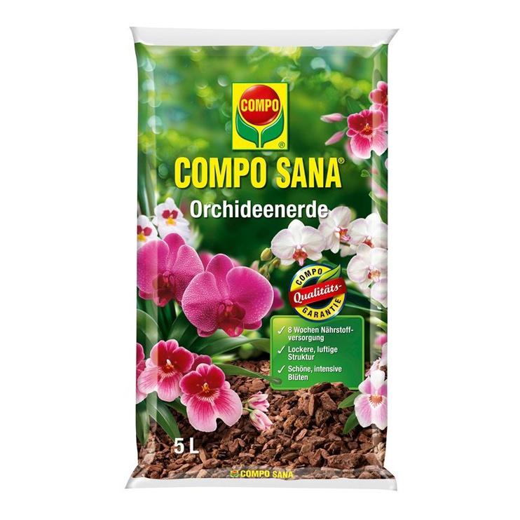 SUBSTR AUGSNES ORHIDEJĀM COMPO SANA 5L