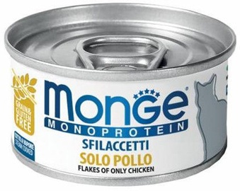 Monge Monoprotein Flakes Only Chicken 80g