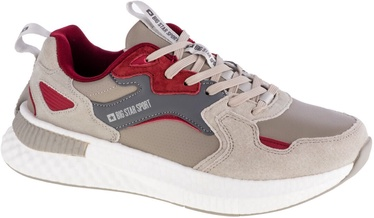 Big Star Sport Shoes GG174463 Beige/Red 41