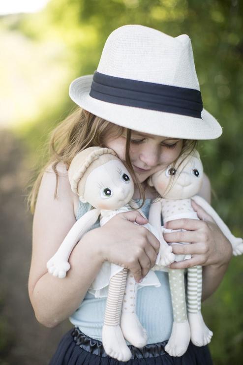 Тряпичная кукла Rubens Barn EcoBuds Iris
