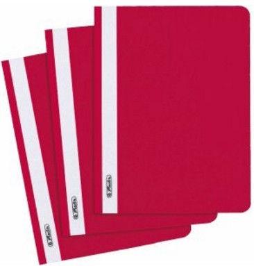 Herlitz Flat File 11256633 Red