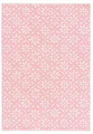 Ковер FanniK Tahtimo Pink, многоцветный, 160 см x 230 см