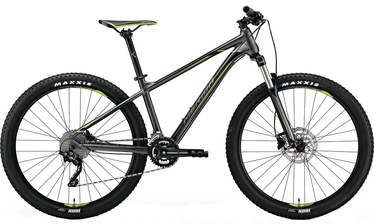 "Dviratis Merida Big Seven 300 17"" 27.5"" Black Green 18"