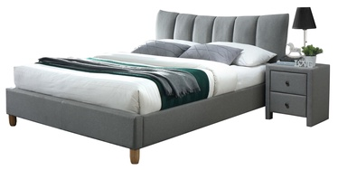 Halmar Sandy 2 Bed Grey