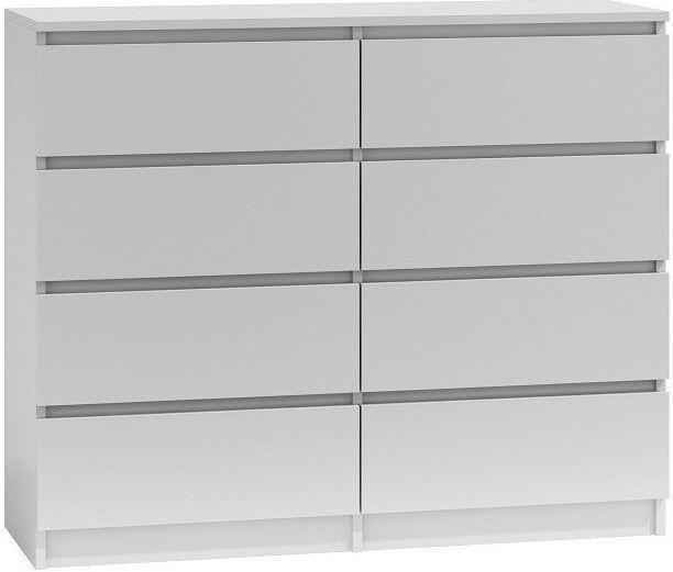 Kumode Top E Shop Malwa M8 White, 120x40x97 cm