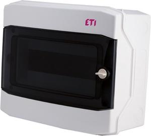 Virštinkinė automatinių jungiklių dėžutė Eti, 12 modulių