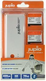 Jupio PowerVault Action GoPro HERO4+2X AHDBT-401