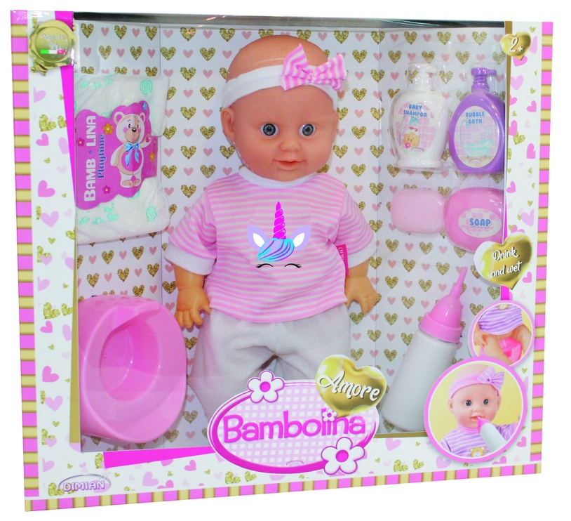 Кукла Dimian Bambolina Amore With Accesories 36см BD1821