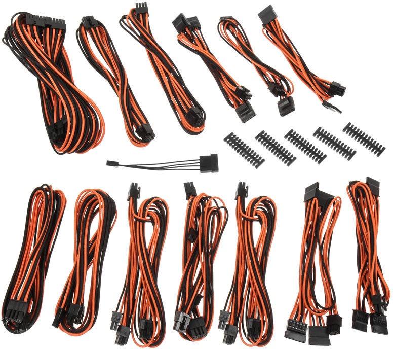 BitFenix Alchemy 2.0 SSC PSU Cable Kit Black/Orange