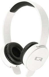 Qoltec Bluetooth On-Ear Headphones White