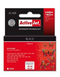 Кассета для принтера ActiveJet AC-40 Cartridge 25ml Black