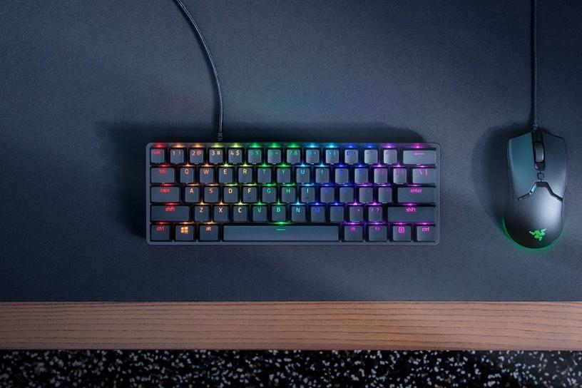 Игровая клавиатура Razer Huntsman Mini Red EN, черный