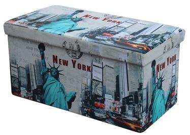 Пуф Halmar Moly XL New York, 38x38x76 см