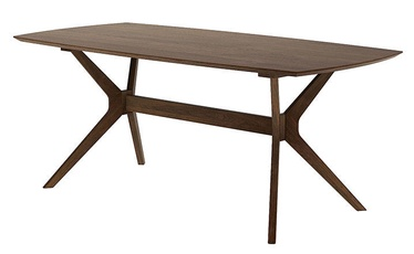 Pusdienu galds MN 1021-01-0 Dark Oak, 1850x900x750 mm