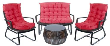 Sodo baldų komplektas Masterjero Easy Red