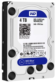 Western Digital Blue HDD 4TB 5400RPM SATA3 64MB WD40EZRZ