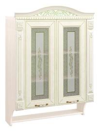 DaVita Olivija 71.15 Kitchen Upper Cabinet Astrid Pine/Light Olive