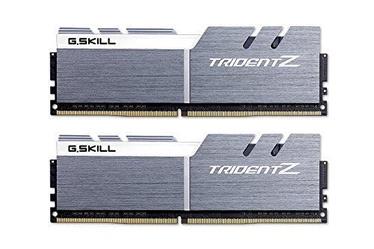 G.SKILL Trident Z Silver/White Series 16GB 3866MHz CL18 DDR4 KIT OF 2 F4-3866C18D-16GTZSW
