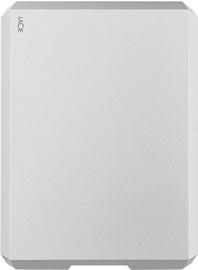 LaCie Mobile Drive 4TB USB 3.1 Moon Silver