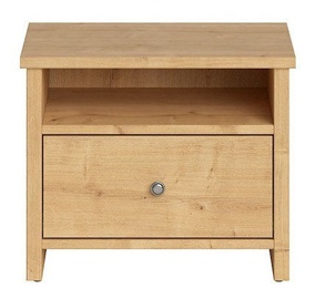 Black Red White Porto Night Stand 40x53cm Burlington Oak