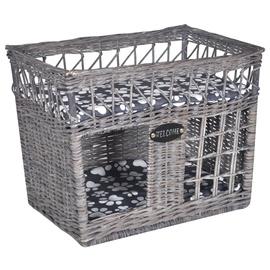 Домик для животных VLX Willow Cat House, серый, 460 мм x 320 мм